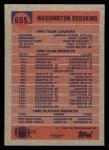 1991 Topps #655   -  Earnest Byner / Gary Clark / Martin Mayhew / Fred Stokes / Alvin Walton Washington Redskins Leaders Back Thumbnail