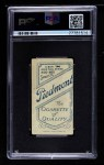 1909 T206 BAT Bill Bradley  Back Thumbnail