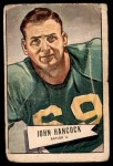 1952 Bowman Large #36  John Lee Hancock  Front Thumbnail