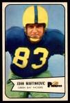 1954 Bowman #80  John Martinkovic  Front Thumbnail