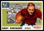 1955 Topps #4  Erny Pinckert  Front Thumbnail
