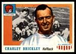 1955 Topps #61  Charley Brickley  Front Thumbnail