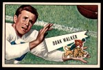 1952 Bowman Large #3  Doak Walker  Front Thumbnail
