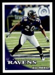 2010 Topps #208  Ed Reed  Front Thumbnail