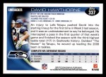 2010 Topps #337  David Hawthorne  Back Thumbnail