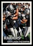 2010 Topps #439   -  Chaz Schilens Raiders Team Front Thumbnail
