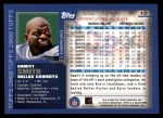2000 Topps #10  Emmitt Smith  Back Thumbnail