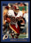 2000 Topps #24  Brian Mitchell  Front Thumbnail