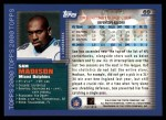 2000 Topps #69  Sam Madison  Back Thumbnail