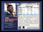 2000 Topps #81  Byron Chamberlain  Back Thumbnail