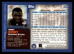 2000 Topps #107  Terry Kirby  Back Thumbnail