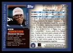 2000 Topps #136  Kevin Johnson  Back Thumbnail