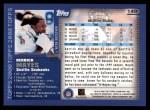 2000 Topps #149  Derrick Mayes  Back Thumbnail