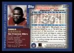 2000 Topps #168  Charlie Garner  Back Thumbnail