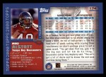 2000 Topps #174  Mike Alstott  Back Thumbnail