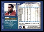 2000 Topps #227  Hardy Nickerson  Back Thumbnail