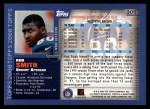 2000 Topps #305  Rod Smith  Back Thumbnail
