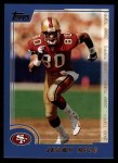 2000 Topps #310  Jerry Rice  Front Thumbnail