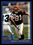 2000 Topps #319  Carl Pickens  Front Thumbnail