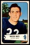 1954 Bowman #125  Whizzer White  Front Thumbnail
