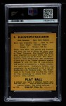 1940 Play Ball #3  Babe Dahlgren  Back Thumbnail