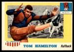 1955 Topps #9  Tom Hamilton  Front Thumbnail