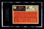 1966 Topps #545  Dick Green  Back Thumbnail