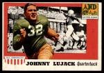 1955 Topps #52  John Lujack  Front Thumbnail