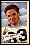 1952 Bowman Large #54  Glen Christian  Front Thumbnail