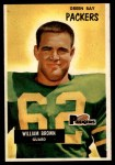 1955 Bowman #117  William Brown  Front Thumbnail