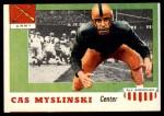 1955 Topps #25  Casimir Myslinski  Front Thumbnail