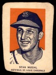 1952 Wheaties #7 POR Stan Musial  Front Thumbnail
