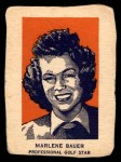 1952 Wheaties #2 POR Marlene Bauer  Front Thumbnail