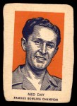 1952 Wheaties #5 POR Ned Day  Front Thumbnail