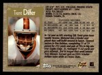 1996 Topps #21  Trent Dilfer  Back Thumbnail