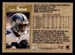 1996 Topps #67  Larry Brown  Back Thumbnail