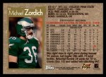 1996 Topps #91  Michael Zordich  Back Thumbnail