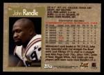 1996 Topps #96  John Randle  Back Thumbnail