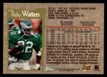1996 Topps #120  Ricky Watters  Back Thumbnail