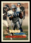 1996 Topps #122   -  Barry Sanders 1000 Yard Club Front Thumbnail