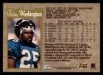 1996 Topps #269  Mickey Washington  Back Thumbnail