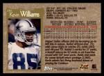 1996 Topps #291  Kevin Williams  Back Thumbnail