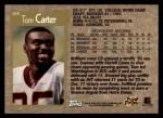 1996 Topps #308  Tom Carter  Back Thumbnail