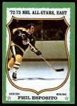 1973 Topps #120  Phil Esposito   Front Thumbnail