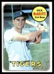 1969 Topps #305  Dick McAuliffe  Front Thumbnail