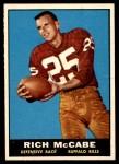 1961 Topps #161  Rich McCabe  Front Thumbnail