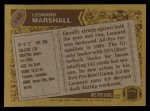 1986 Topps #148  Leonard Marshall  Back Thumbnail