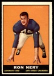 1961 Topps #172  Ron Nery  Front Thumbnail