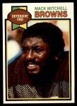1979 Topps #93  Mack Mitchell  Front Thumbnail