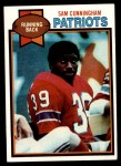 1979 Topps #421  Sam Cunningham  Front Thumbnail